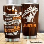 Personalized Bartender I Use Excessive Sarcasm At Work Stainless Steel Tumbler Perfect Gifts For Bartender Tumbler Cups For Coffee/Tea, Great Customized Gifts For Birthday Christmas Thanksgiving