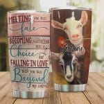 Personalized Goat Becoming Your Friend Was A Choice But Falling In Love With You Was Beyond My Control Stainless Steel Tumbler, Tumbler Cups For Coffee/Tea, Great Customized Gifts For Birthday Christmas Thanksgiving