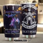Personalized Dragon Biker Rheumatoid Arthritis You Want Me To Smile Stainless Steel Tumbler Perfect Gifts For Dragon Lover Tumbler Cups For Coffee/Tea, Great Customized Gifts For Birthday Christmas Thanksgiving