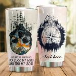Personalized Skull Forest To Lose My Mind And Find My Soul Stainless Steel Tumbler Perfect Gifts For Skull Lover Tumbler Cups For Coffee/Tea, Great Customized Gifts For Birthday Christmas Thanksgiving