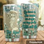 Personalized Mermaid Dreams Of The Ocean Late At Night Stainless Steel Tumbler Perfect Gifts For Mermaid Lover Tumbler Cups For Coffee/Tea, Great Customized Gifts For Birthday Christmas Thanksgiving