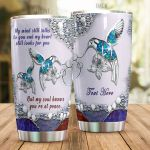 Personalized Cardinal My Soul Knows You're At Peace Stainless Steel Tumbler Perfect Gifts For Cardinal Lover Tumbler Cups For Coffee/Tea, Great Customized Gifts For Birthday Christmas Thanksgiving