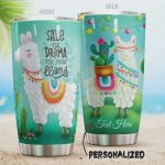 Personalized Save The Drama For Your Llama Stainless Steel Tumbler, Tumbler Cups For Coffee/Tea, Great Customized Gifts For Birthday Christmas Thanksgiving
