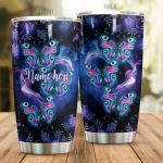 Personalized Magic Colorful Butterfly Stainless Steel Tumbler Perfect Gifts For Butterfly Lover Tumbler Cups For Coffee/Tea, Great Customized Gifts For Birthday Christmas Thanksgiving
