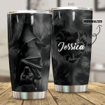 Personalized Bat Stainless Steel Tumbler Perfect Gifts For Bat Lover Tumbler Cups For Coffee/Tea, Great Customized Gifts For Birthday Christmas Thanksgiving