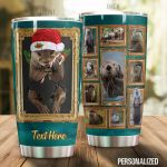 Personalized 3D Otter Stainless Steel Tumbler Perfect Gifts For Otter Lover Tumbler Cups For Coffee/Tea, Great Customized Gifts For Birthday Christmas Thanksgiving