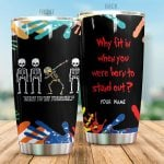 Personalized Autism Dare To Be Yourself Stainless Steel Tumbler Perfect Gifts For Autism Fighter Tumbler Cups For Coffee/Tea, Great Customized Gifts For Birthday Christmas Thanksgiving