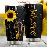 Personalized You Are My Sunshine Horse Stainless Steel Tumbler Tumbler Cups For Coffee/Tea Perfect Customized Gifts For Birthday Christmas Thanksgiving Awesome Gifts For Horse Lovers