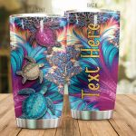 Personalized Magic Turtle Aesthetic Stainless Steel Tumbler Perfect Gifts For Turtle Lover Tumbler Cups For Coffee/Tea, Great Customized Gifts For Birthday Christmas Thanksgiving