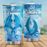 Personalized Dolphin As Free As The Ocean Stainless Steel Tumbler, Tumbler Cups For Coffee/Tea, Great Customized Gifts For Birthday Christmas Thanksgiving