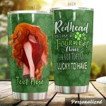 Personalized Redhead Hard To Find Stainless Steel Tumbler Tumbler Cups For Coffee/Tea Great Customized Gifts For Birthday Christmas Thanksgiving Perfect Gifts For Redhead Lovers