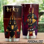 Personalized Ancient Egypt Gods Stainless Steel Tumbler Perfect Gifts For Egypt Culture Lover Tumbler Cups For Coffee/Tea, Great Customized Gifts For Birthday Christmas Thanksgiving