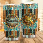 Personalized Native Hairstylist Stainless Steel Tumbler Perfect Gifts For Native American Culture Lover Tumbler Cups For Coffee/Tea, Great Customized Gifts For Birthday Christmas Thanksgiving