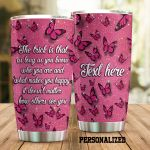 Personalized Butterfly It Doesn't Matter How Others See You Stainless Steel Tumbler Perfect Gifts For Butterfly Lover Tumbler Cups For Coffee/Tea, Great Customized Gifts For Birthday Christmas Thanksgiving