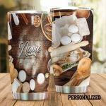 Personalized Baking Equipment Stainless Steel Tumbler Perfect Gifts For Baking Lover Tumbler Cups For Coffee/Tea, Great Customized Gifts For Birthday Christmas Thanksgiving