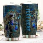 Personalized Horse Art Stainless Steel Tumbler Tumbler Cups For Coffee/Tea Perfect Customized Gifts For Birthday Christmas Thanksgiving Awesome Gifts For Horse Lovers