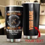 Personalized Mechanic Curious Enough To Take It Apart Stainless Steel Tumbler Perfect Gifts For Mechanic Tumbler Cups For Coffee/Tea, Great Customized Gifts For Birthday Christmas Thanksgiving