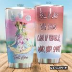 Personalized Yoga Girl Taking Care Of Yourself Stainless Steel Tumbler Perfect Gifts For Yoga Lover Tumbler Cups For Coffee/Tea, Great Customized Gifts For Birthday Christmas Thanksgiving