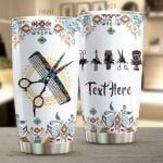 Personalized Hair Hustler Vintage Tools Stainless Steel Tumbler Tumbler Cups For Coffee/Tea Meaningful Customized Gifts For Birthday Christmas Thanksgiving Awesome Gifts For Hair Stylist
