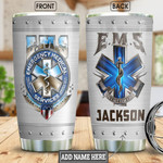 Personalized Ems Metal On Call For Life Stainless Steel Tumbler, Tumbler Cups For Coffee/Tea, Great Customized Gifts For Birthday Christmas Thanksgiving