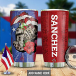Personalized Puerto Rico Signature Tumbler Cup Stainless Steel Insulated Tumbler 20 Oz Best Gifts For Puerto Rican People Great Gifts For Birthday Christmas Thanksgiving Coffee/ Tea Tumbler