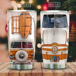 Van Traveling For Hippie Fans Tumbler Cup, Stainless Steel Vacuum Insulated Tumbler 20 Oz, Great Gifts For Birthday Christmas, Unique Gifts For Friends, Relatives- Coffee/ Tea Tumbler