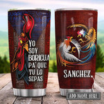 Gallero De Puerto Rico Personalized Tumbler Cup, Stainless Steel Insulated Tumbler 20 Oz, Coffee/Tea Tumbler, Great Gifts For Birthday Christmas Thanksgiving, Unique Gifts For Friends, Relatives