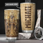 Personalized Ancient Egypt Gods Stainless Steel Tumbler, Tumbler Cups For Coffee/Tea, Great Customized Gifts For Birthday Christmas Thanksgiving