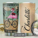 Flamingo Bicycle Personalized Tumbler Cup Life Behind Bars Stainless Steel Insulated Tumbler 20 Oz Great Gifts For Flamingo Lovers Best Gifts For Birthday Christmas Thanksgiving Coffee Tumbler