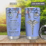 Personalized Nurse Tumbler Cup Dont Give Up Just Remember Stainless Steel Tumbler, 20 Oz Tumbler Cups For Coffee/Tea, Gifts For Birthday Christmas Thanksgiving, Perfect Gifts For Nurse Lovers