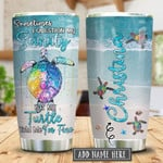 Sea Turtles Question My Sanity Personalized Tumbler Cup Colorful Turtle Stainless Steel Vacuum Insulated Tumbler 20 Oz Great Gifts For Birthday Christmas Thanksgiving Coffee/ Tea Tumbler