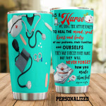 Nurse  As A Nurse We Have Opportunity Stainless Steel Tumbler, Tumbler Cups For Coffee/Tea, Great Customized Gifts For Birthday Christmas Thanksgiving