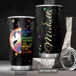 Lgbt Unicorn Bright Night Personalized Tumbler Cup This IS Me Stainless Steel Insulated Tumbler 20 Oz Tumbler For Coffee/ Tea With Lid Great Birthday Gifts Christmas Gifts Best Gifts For Lgbt