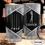Golfer Personalized Metal Style Tumbler Cup Life Is Full Of Important Choice Stainless Steel Insulated Tumbler 20 Oz Great Customized Gifts For Birthday Christmas Thanksgiving Tumbler Travel