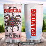 Puerto Rican Boricua Vejigante Personalized Puerto Rican Mask Tumbler Cup Stainless Steel Insulated Tumbler 20 Oz Tumbler For Coffee/ Tea Best Gifts For Birthday Christmas Thanksgiving