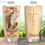 Personalized Child Of God Faith Tumbler Cup God Is My Father Stainless Steel Insulated Tumbler 20 Oz Great Customized Gifts For Birthday Christmas Thanksgiving Coffee/ Tea Tumbler With Lid
