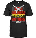 Soldiers Don't Brag But Their Mother Do Military Mother Gift Proud Army Mom T Shirt Grandmother Grandma Granny Mom Mama Birthday Wedding Anniversary Mother's Day Tee