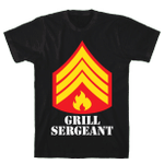 Grill Sergeant T-Shirt Unisex T-Shirt For Men Women Great Customized Gifts For Birthday Christmas Thanksgiving