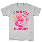I'm Still Hungry Cat Opening Mouth Unisex T-Shirt For Men Women Great Customized Gifts For Birthday Christmas Thanksgiving Gift For Cat Lovers