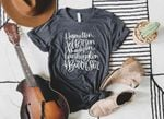 Hamilton, Jefferson, Madison, Washington & Burr, Sir Shirt | Unisex Tshirt