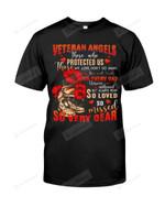 Veteran Angels Short-Sleeves Tshirt, Pullover Hoodie Great Gift For Veteran Customized On Veteran's Day