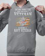 Being Navy Veteran Short-Sleeves Tshirt, Pullover Hoodie Great Gift For Veteran's Day