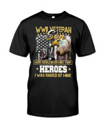 WWI Veteran Son Short-sleeves Tshirt, Pullover Hoodie, Great Gift T-shirt On Veteran Day