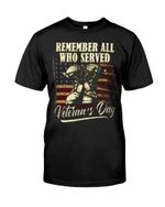 Remember All Who Served Veteran's Day Short-sleeves Tshirt, Pullover Hoodie, Great Gift T-shirt On Veteran Day