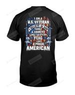 I Am A US Veteran Short-sleeves Tshirt, Pullover Hoodie, Great Gift T-shirt On Veteran Day