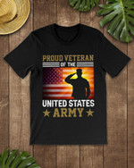 Proud Veteran Of The Us Army Short-Sleeves Tshirt, Pullover Hoodie Great Gift For Veteran's Day