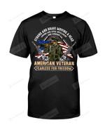 American Veteran Fearless For Freedom Short-Sleeves Tshirt, Pullover Hoodie, Great Gift T-shirt On Veteran Day