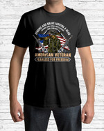 American Veteran Strong And Brave A Head Short-Sleeves Tshirt, Pullover Hoodie Great Gift For Veteran's Day