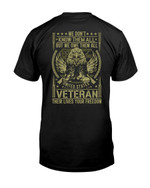 We Don't Know Them All But We Owe Them All United States Veteran Short-sleeves Tshirt, Pullover Hoodie, Great Gift T-shirt On Veteran Day