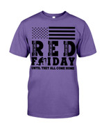 Remember Red Friday Short-Sleeves Tshirt, Pullover Hoodie Great Gift For Veteran's Day